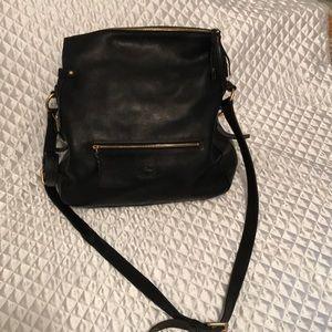 Leather Dooney and Bourke Crossbody purse
